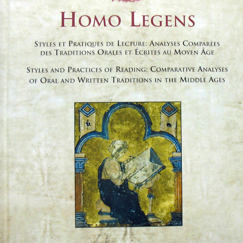 Homo legens. Styles and Practices of reading:  Comparative analysis of Oral and Written traditions  in the Middle Ages